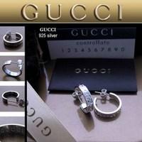 Серьги Gucci 123