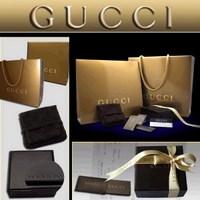 Фирменная упаковка Gucci